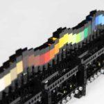Máquina de onda del arco iris de Lego