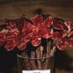 Say It With Beef: Flowers from Beef Jerky, because soon's Valentine!