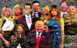 Społeczności Trump w Ulicy Sezamkowej
