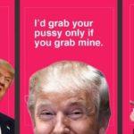 Trump Valentinsdag kort