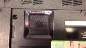 """Was in einem Lenovo Laptop als """"Subwoofer"""" verkauft wurde"""