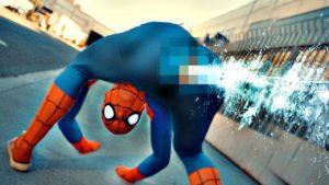 Hvis Spiderman er anatomisk korrekt adfærd ville