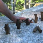 how to make a 12 split-ton block of granite by hand