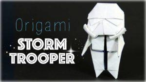 Wie man einen Origami Stormtrooper macht