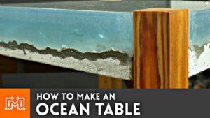 Wie man sich den Ocean Table ganz einfach selbst baut