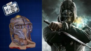 Hvordan Corvo maske fra Dishonored lappeløsninger