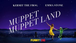 """Wie mit Kermit aus """"La La Land"""" """"Muppet Muppet Land"""" on"""
