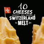 10 Swiss cheese to melt