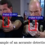 Firearms automatically detect artificial intelligence