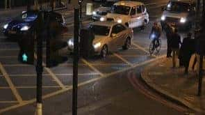 Blaze Laserlight: Laser to make cycling safer