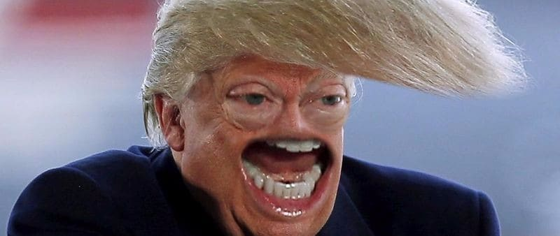 Creepy Trump Faces | Dravens Tales from the Crypt