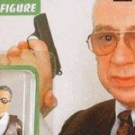 Stephan Derrick als Actionfigur, a piece of German TV history