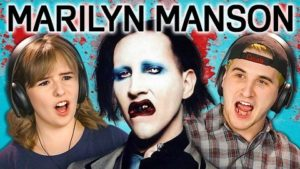 The reactions of teenagers, when they hear the first time Marilyn Manson