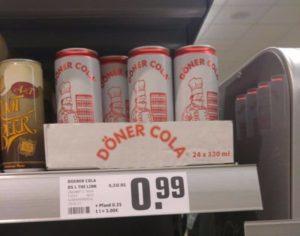 Neulich im Supermarkt: Döner Cola