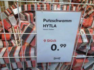 Neu bei IKEA: Putzschwamm Hytla