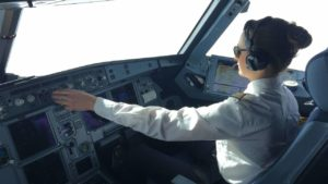 to fly in the cockpit of an Airbus A320 with 360 ° -Video