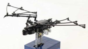 Kinetisches Lego Fledermaus-Modell