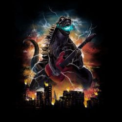 Rockazilla - The Battle Of The Kaiju Bands