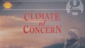 Was Shell im Jahr 1991 bereits über den Klimawandel wusste