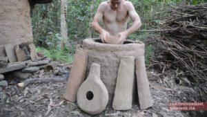 Come si vede dalla, ciò che la foresta hergibt, la costruzione di un forno di ceramica
