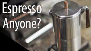 Como construir um pote de café expresso