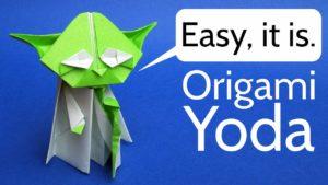Wie Origami Yoda-du faltest