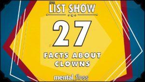 27 Fatos sobre palhaços