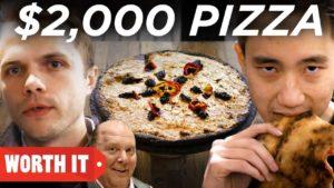 Der 2 Dollar Pizza mit 2000 Dollar Pizza Vergleich