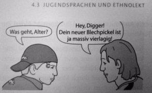 Alman kitap gençlik dilini açıklar zaman