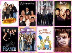 Hier die Fonts der Titel deiner Lieblingsserien aus den 90er Jahren