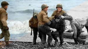 Historische Fotos, mit Farbe zu neuem Leben erweckt