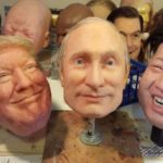Super Realistic masks Trump, Putin and Jong-un on eBay
