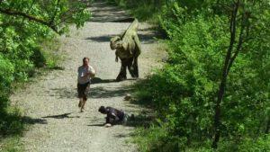 Prank Jurassic: brincadeira mal com o Dino super-realista