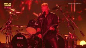 Metallica: Täysi Lollapalooza ulkonäkö Brasiliassa