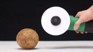 Was sich alles mit Papier auf einen Trennschleifer montiert schneiden lässt