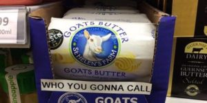 Neulich im Supermarkt: Who You Gonna Call?