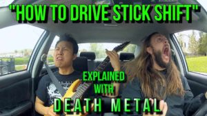 How to teach with death metal driving