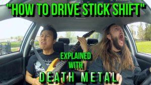 Wie man sich mit Death Metal Autofahren beibringt