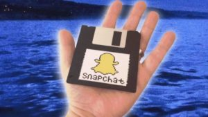 How Snapchat would have looked like in the 90's
