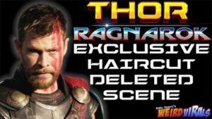 """Wie Thor zu seiner Frisur im Trailer von """"Thor: Ragnarok"""" est venu"""