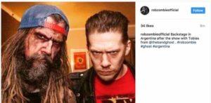 Rob Zombie demaskiert Ghost und postet Instagram-Foto mit unmaskiertem Papa Emeritus