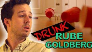 Drunk Rube Goldberg Machine