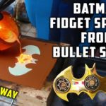 Fidget Spinner i Batman stil shell casings
