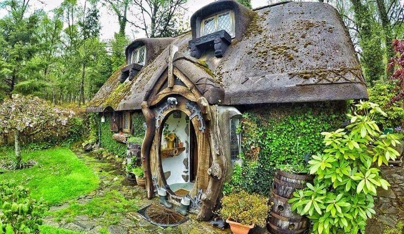 das verr ckte hobbit haus meines onkels dravens tales from the crypt. Black Bedroom Furniture Sets. Home Design Ideas