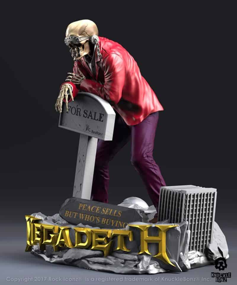 Knucklebonz Announces Mustaine And Rattle Head Figurines