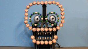Lego Automaton Sugar Skull