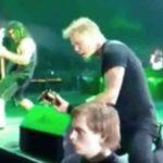 Visitei recentemente um show do Metallica