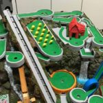 Minigolf Marble Machine