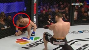 MMA Fighter taunted opponents with Hadouken
