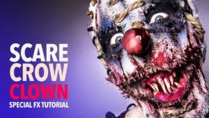Scarecrow Clown Make-up Tutorial